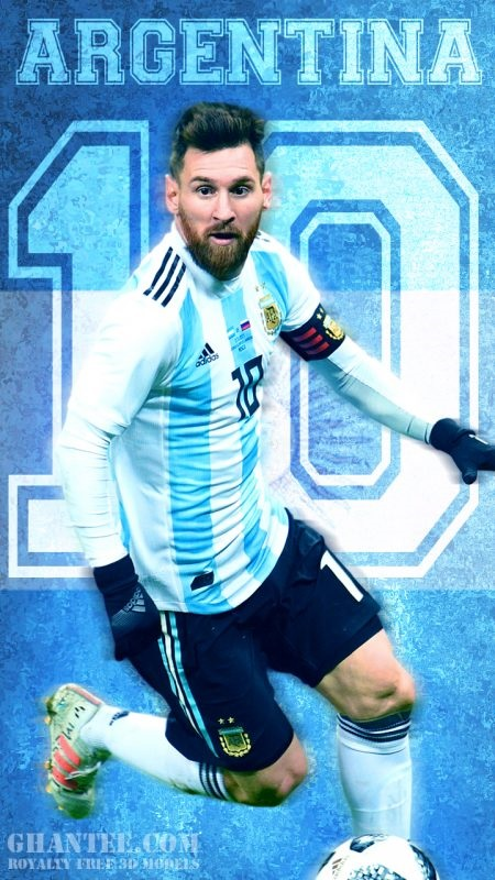 messi argentina world cup russia 2018