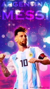 argentina lionel messi mobile wallpaper football world cup hd