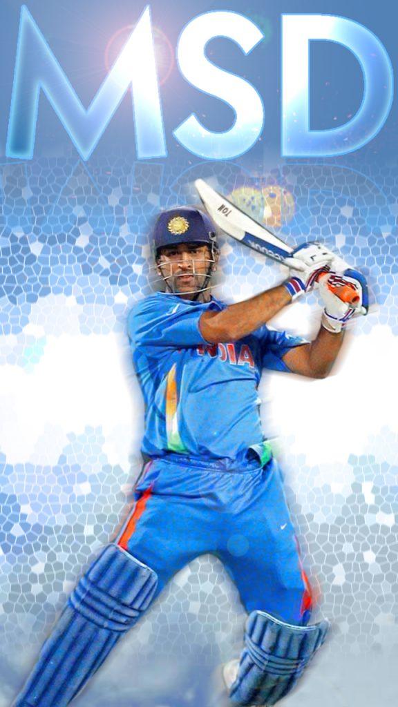 dhoni india HD mobile wallpaper