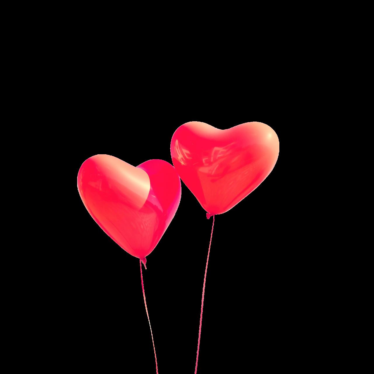 Heart Balloons png