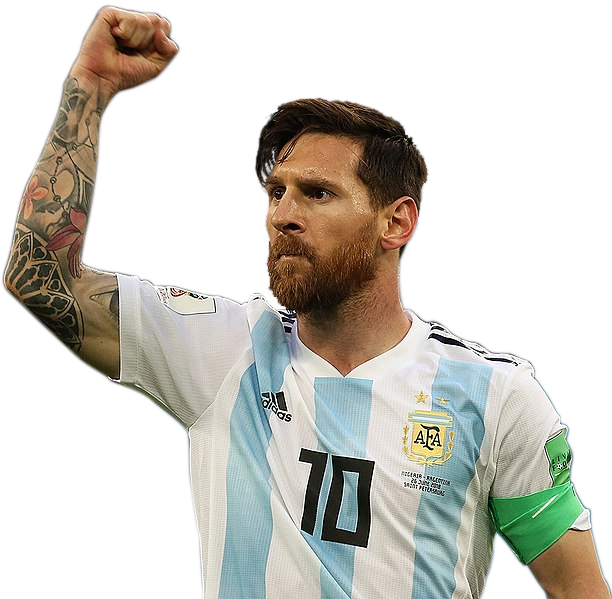 messi action png