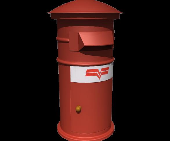 post box png image