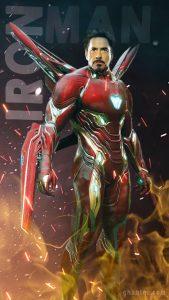 iron man HD mobile wallpaper