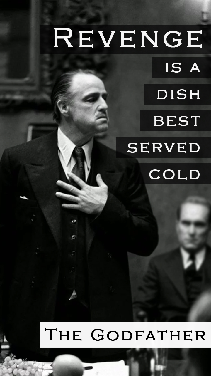 godfather revenge quotes wallpaper