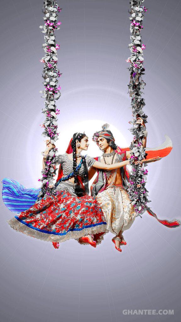 radhakrishna wallpaper HD