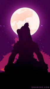 mahadev meditating phone wallpaper