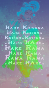 hare krishna phone wallpaper