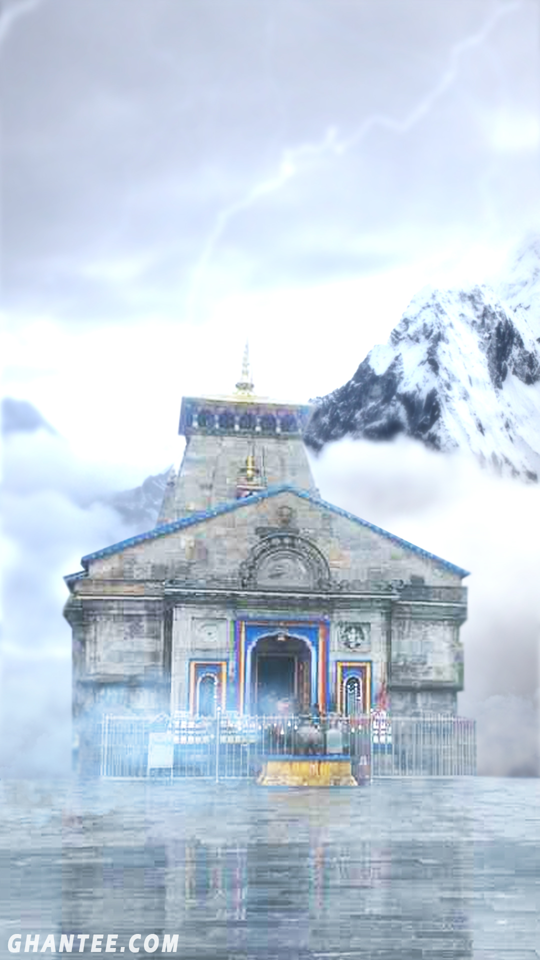 kedarnath temple hd wallpaper for mobile