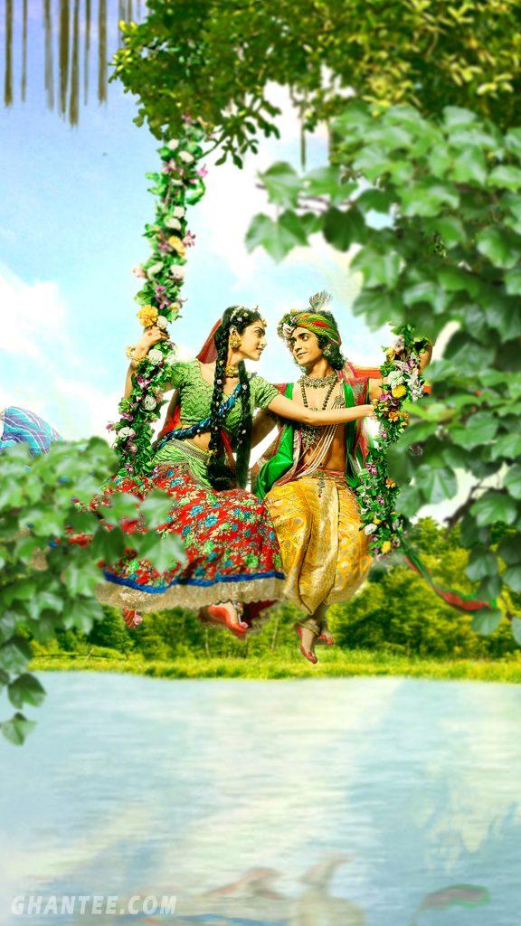 4k god wallpaper for mobile - radha krishna serial
