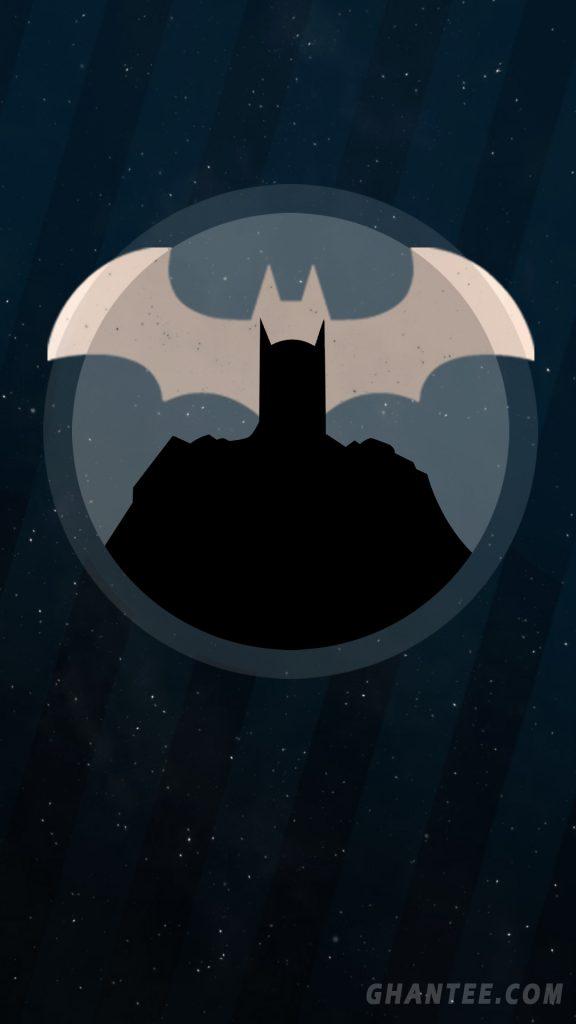 batman hd mobile wallpaper black and gold