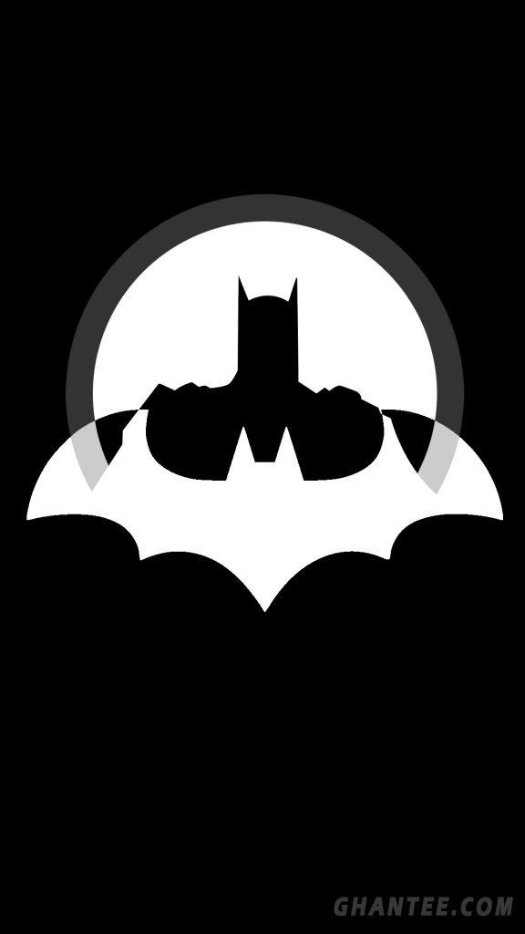 batman minimal wallpaper 1080p