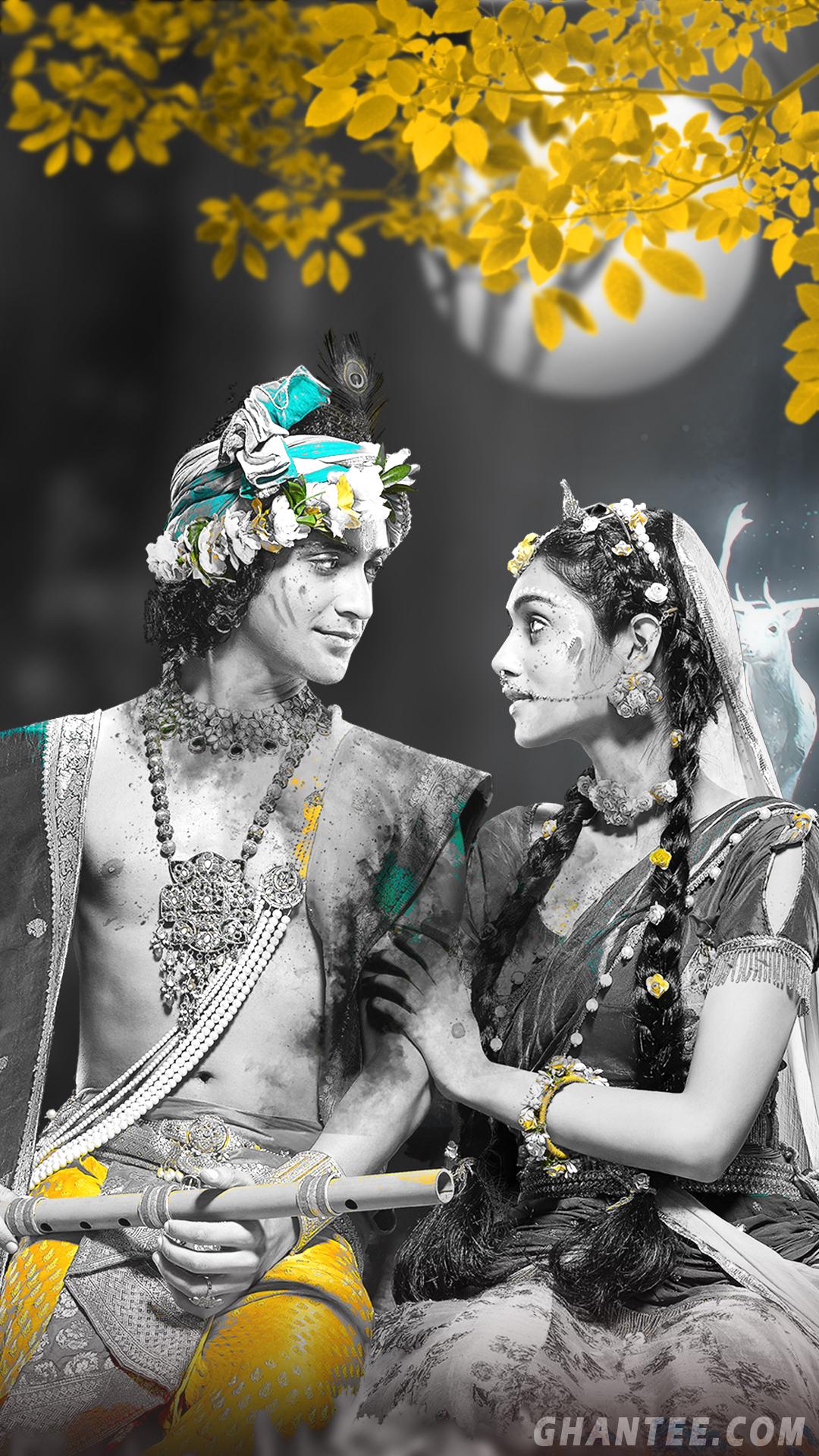 radha krishna hd phone wallpaper from radhakrishna serial