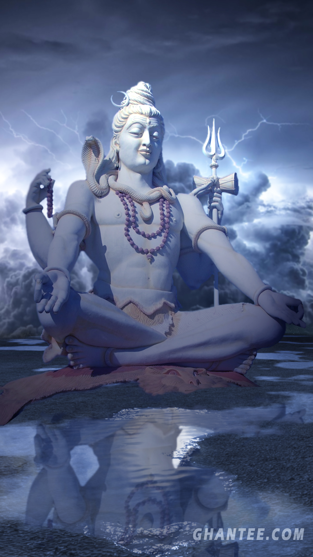 shiv hd wallpaper for iphone and android