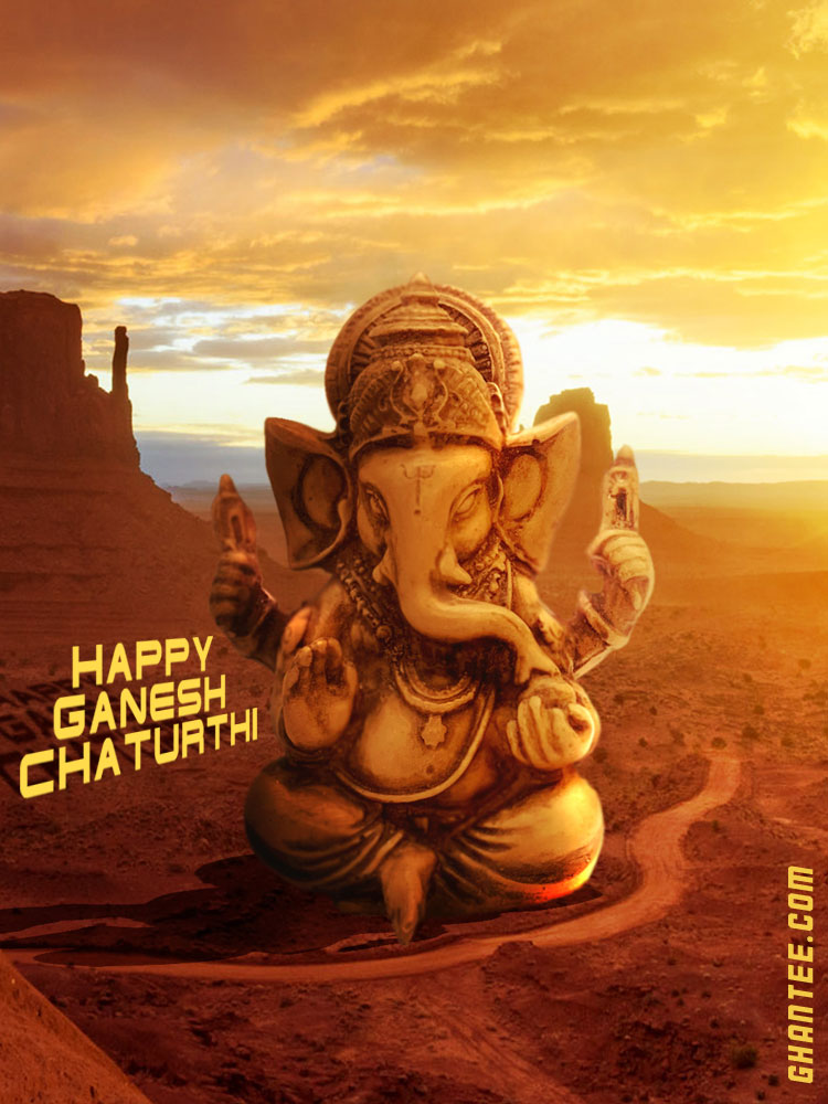 happy ganesh chaturthi wishes phone status