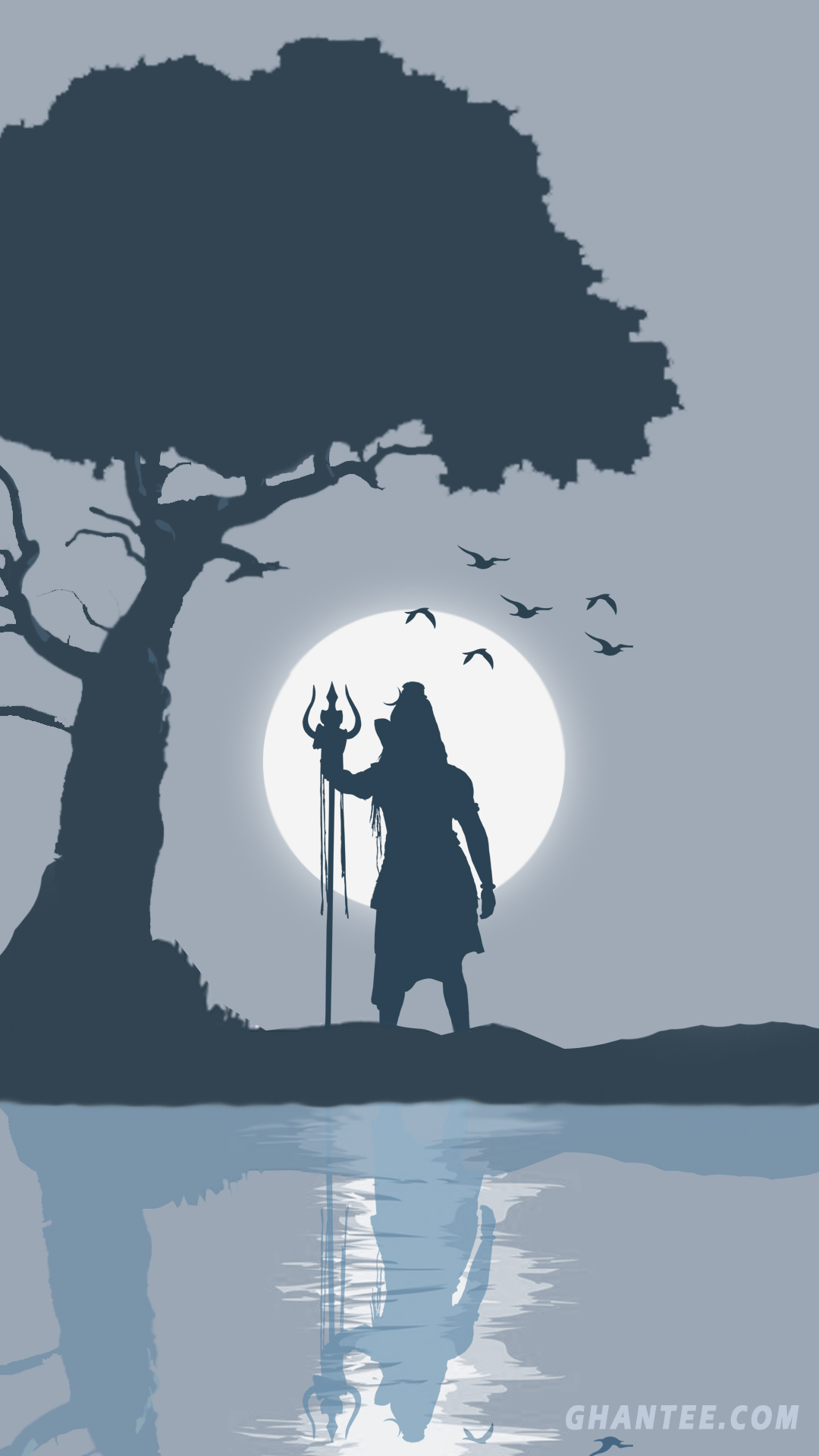 lord shiva hd wallpapers – minimalist grey phone wallpaper