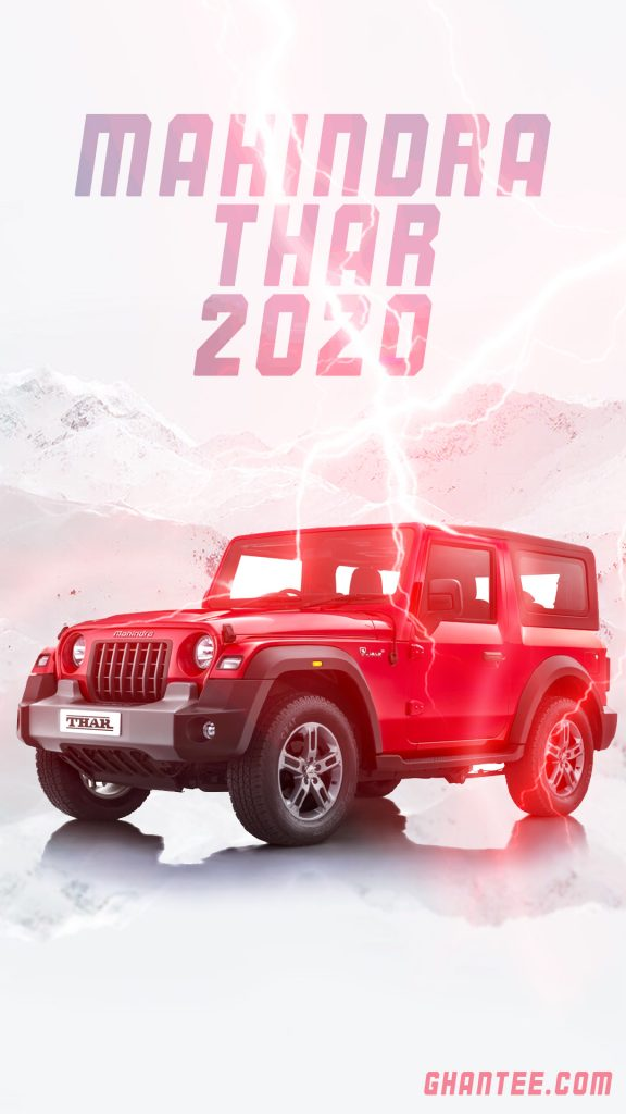 mahindra thar 2020 hd car wallpaper for phone