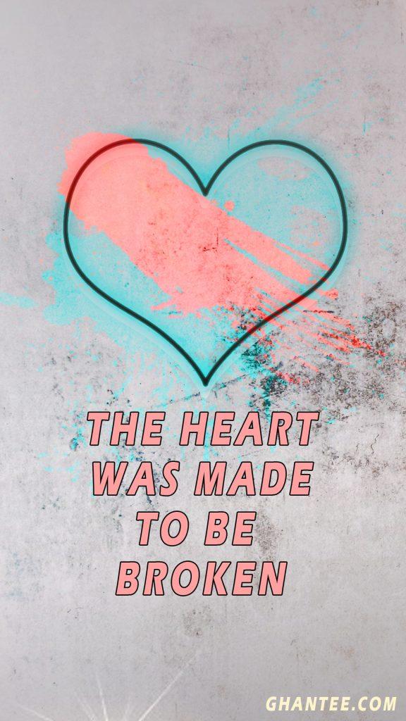 broken heart hd phone wallpaper