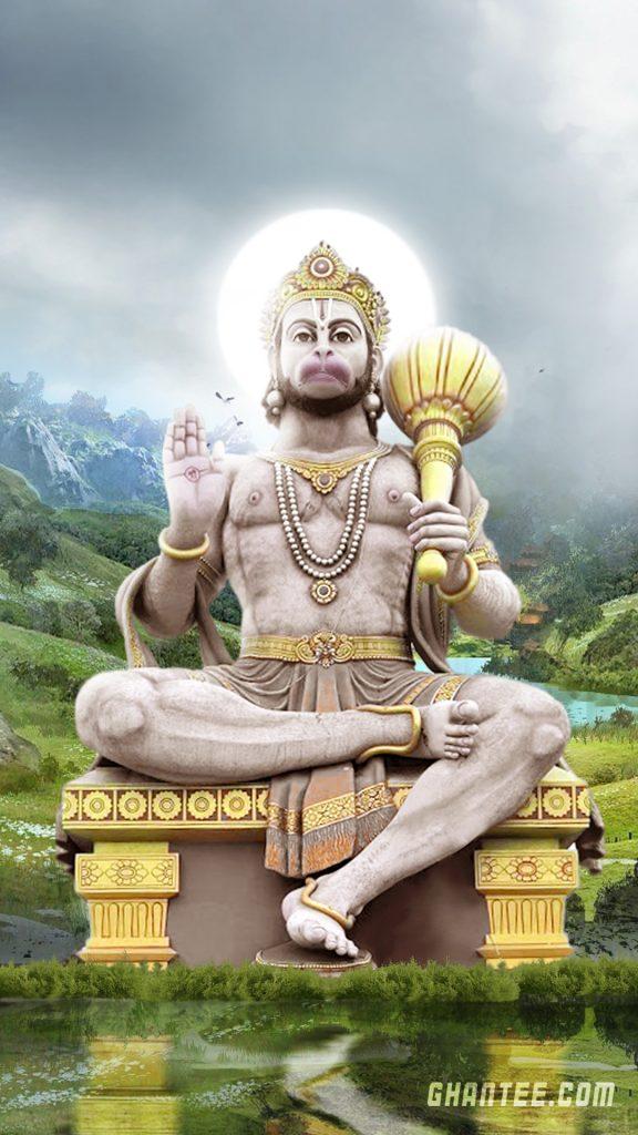lord hanuman iphone wallpaper