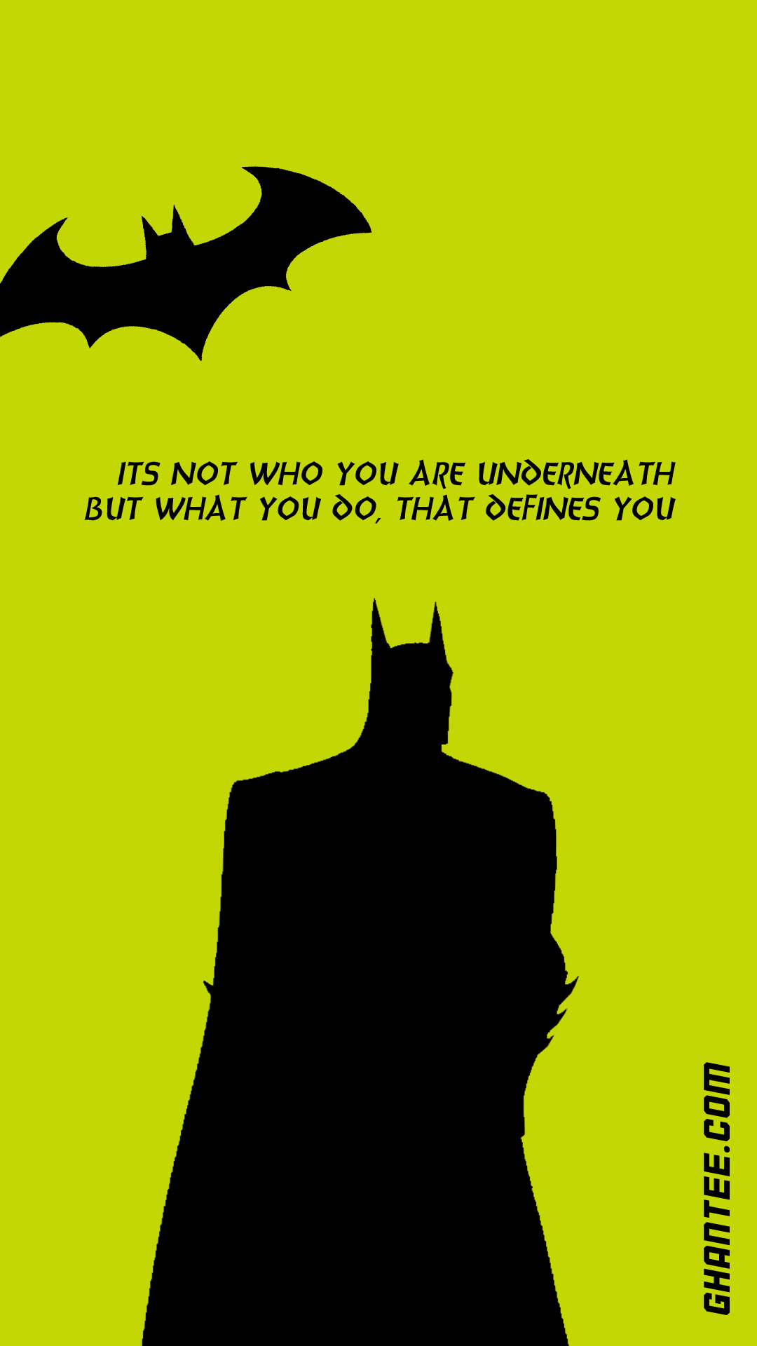 batman quote hd phone wallpaper | 1080×1920