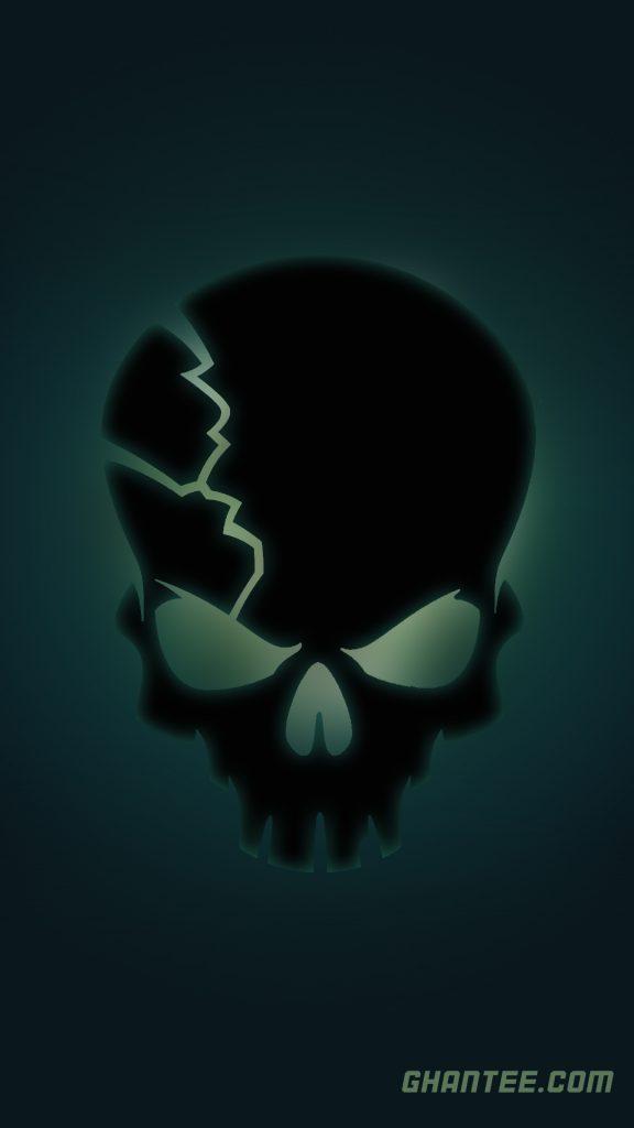 cool skull hd phone wallpaper