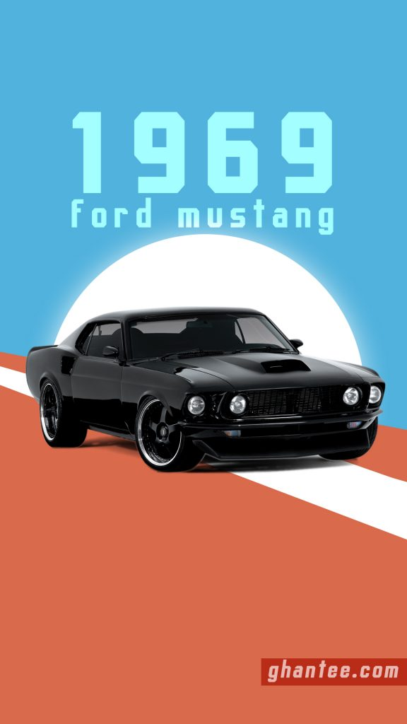 ford mustang hd phone wallpaper-1969