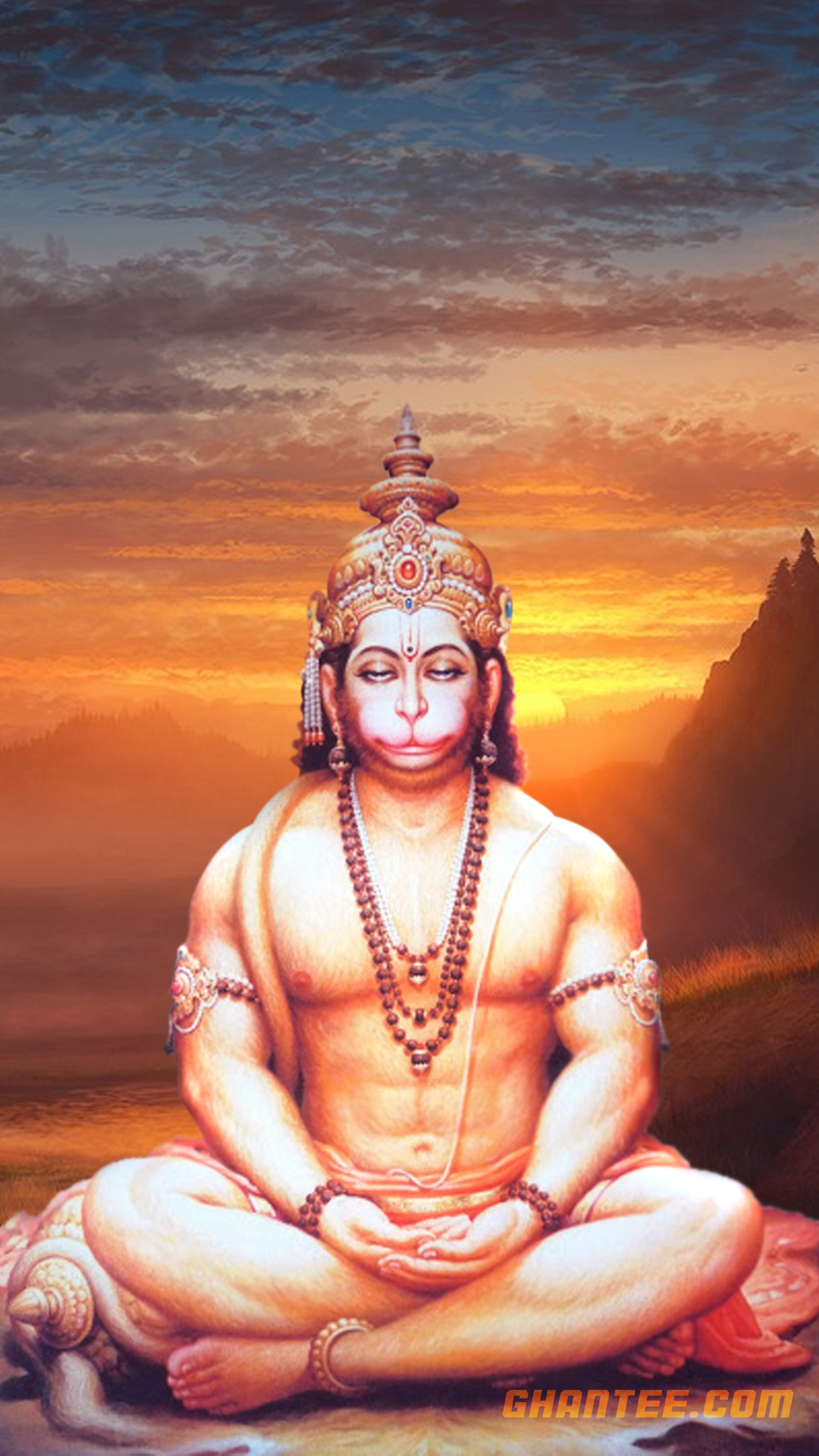 lord hanuman wallpaper for iphone | full HD
