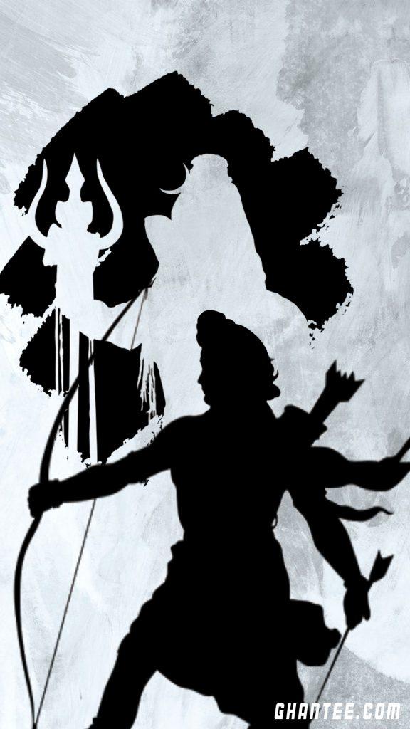 lord shiva and ram hd phone wallpaper