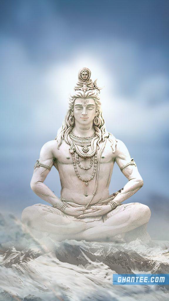 lord shiva macro wallpaper for mobile phone