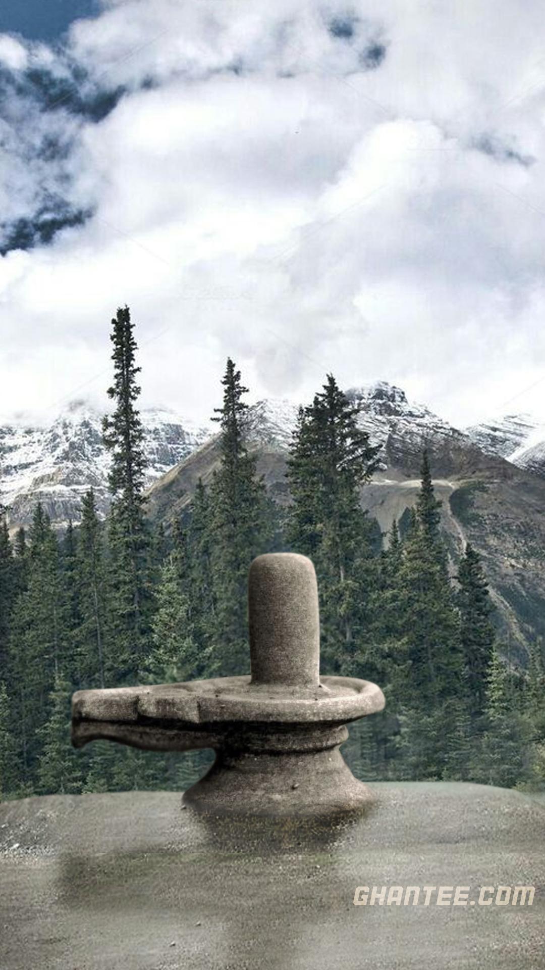 shivling scenery hd phone background