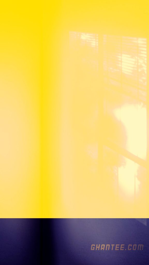 yellow and black plain mobile wallpaper