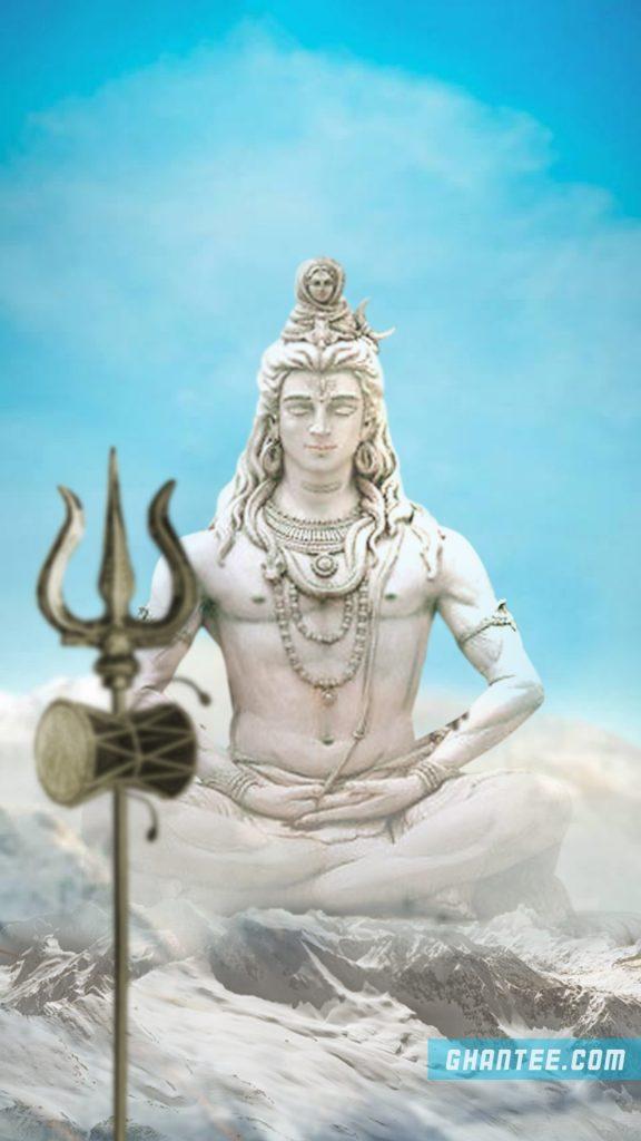shiv shankar in kailash hd phone wallpaper