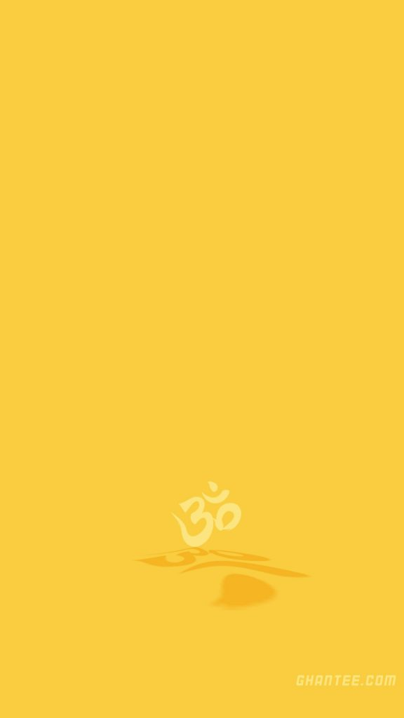simple om text hd phone wallpaper