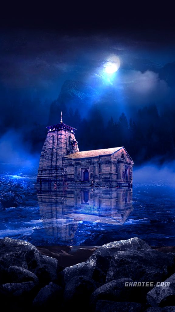 kedarnath temple hd wallpaper