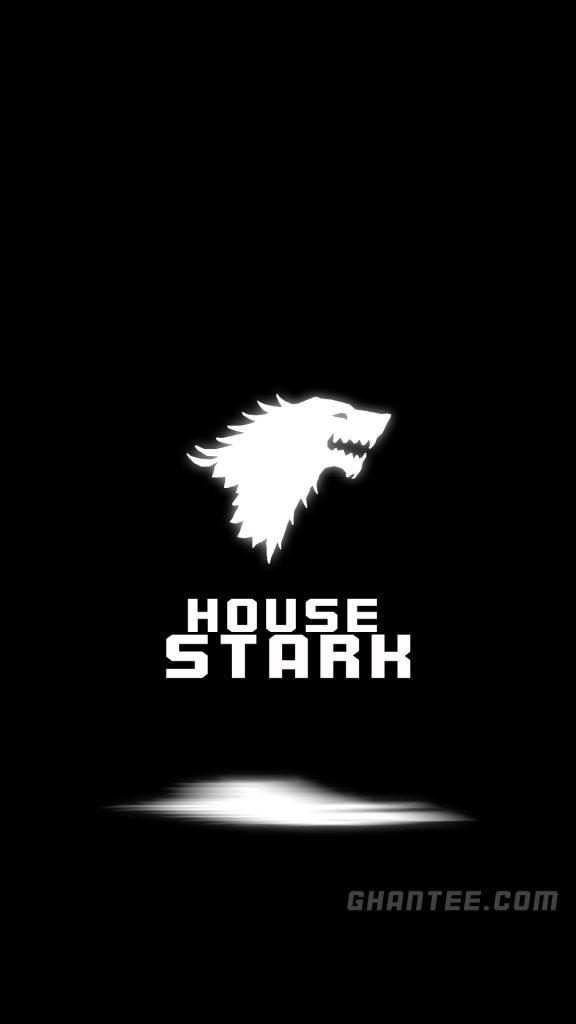 game of thrones wallpaper - house stark wolf