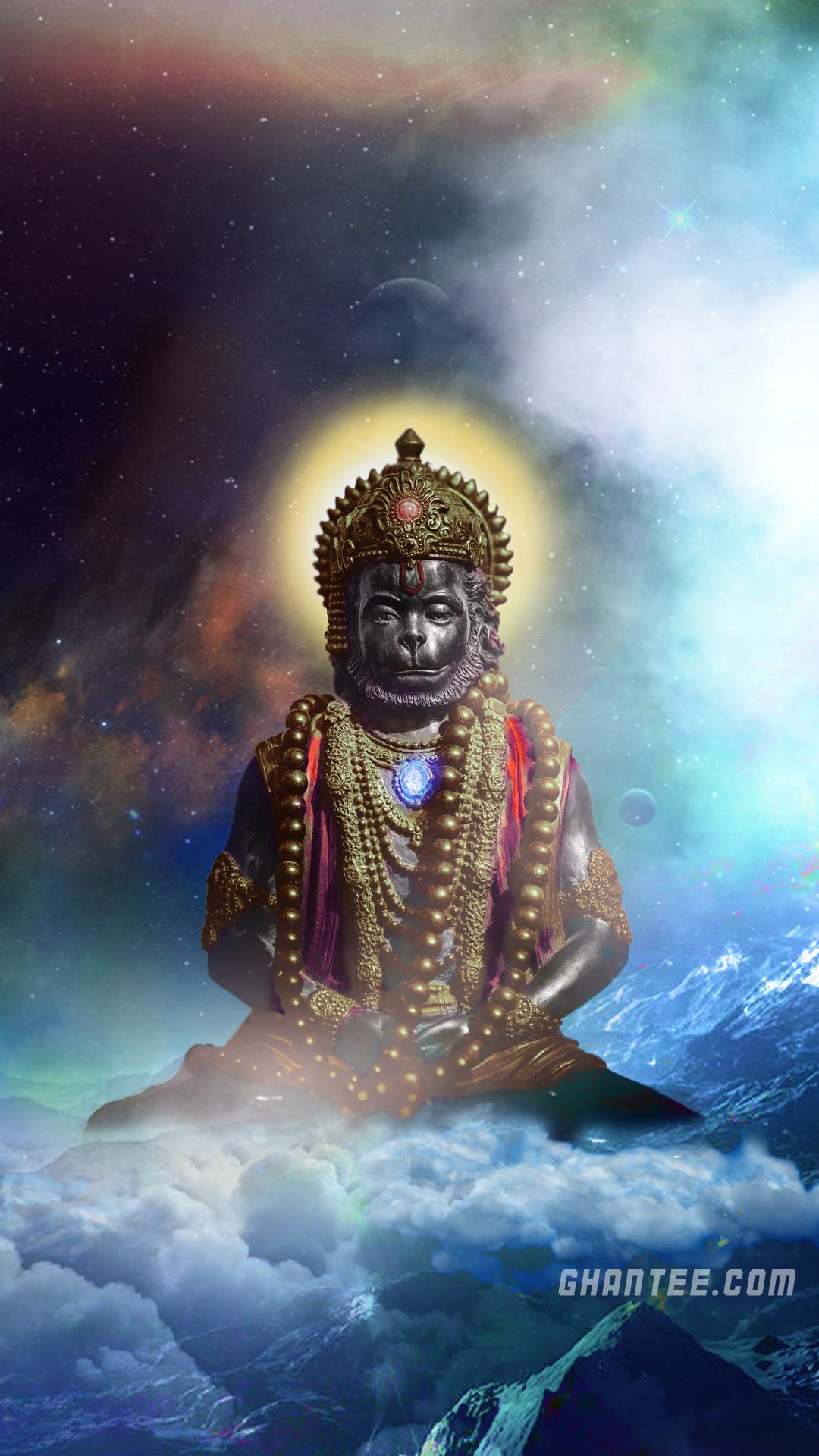 lord hanuman larger hd phone wallpaper