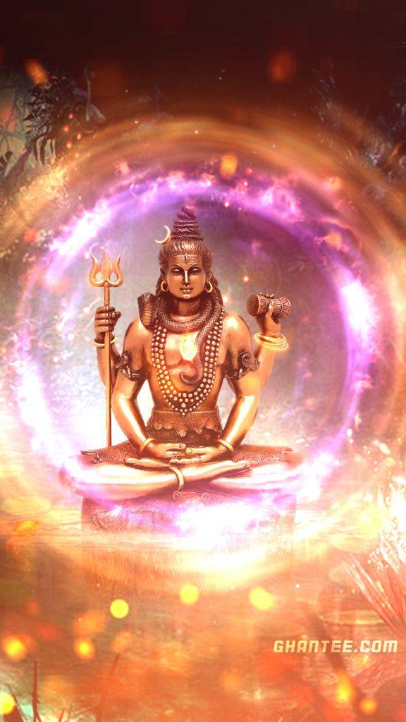 lord shiva hd wallpaper energy ball