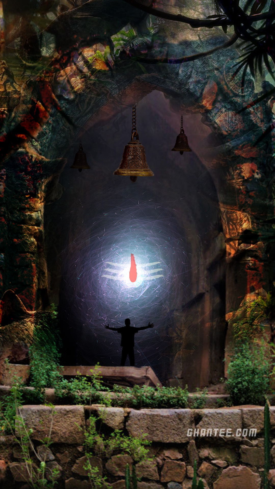 mystical shivling 2 hd phone wallpaper