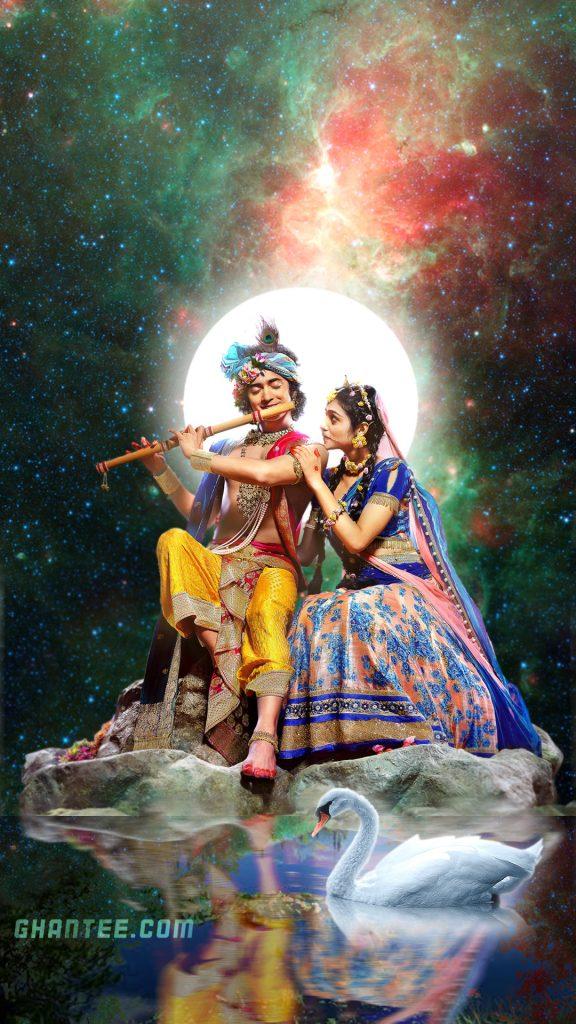 starbharat radhakrishna - eternal lovers hd phone wallpaper
