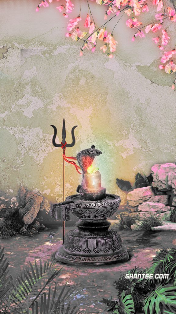 shivlingam image wallpaper for hd mobile devices