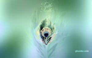 radhe radhe macbook HD wallpaper
