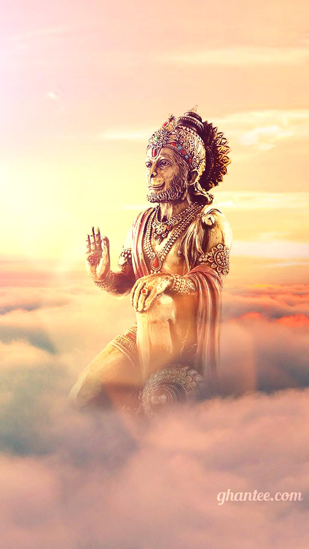super huge hanuman murti photo