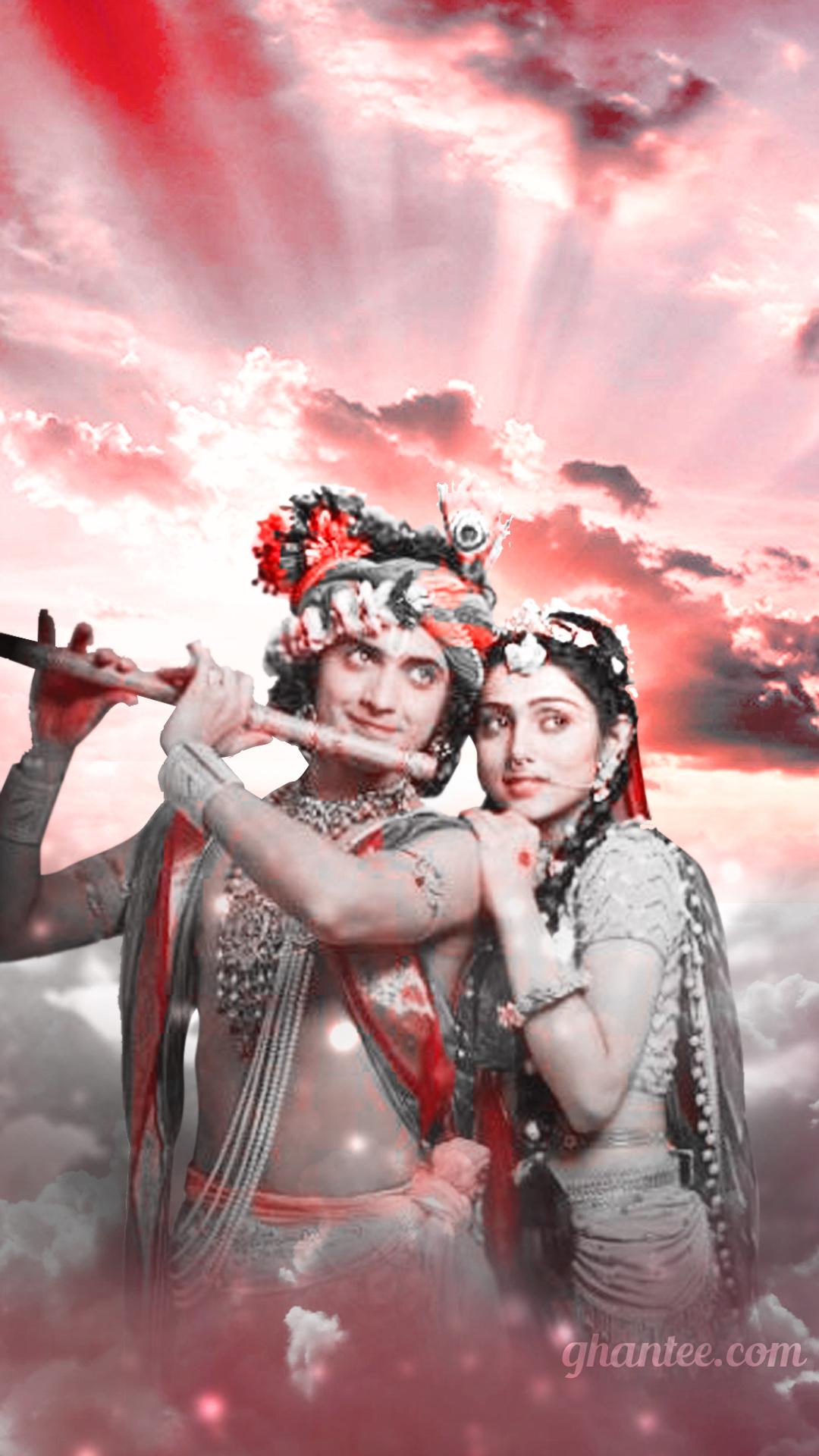 radhakrishna hd phone wallpaper