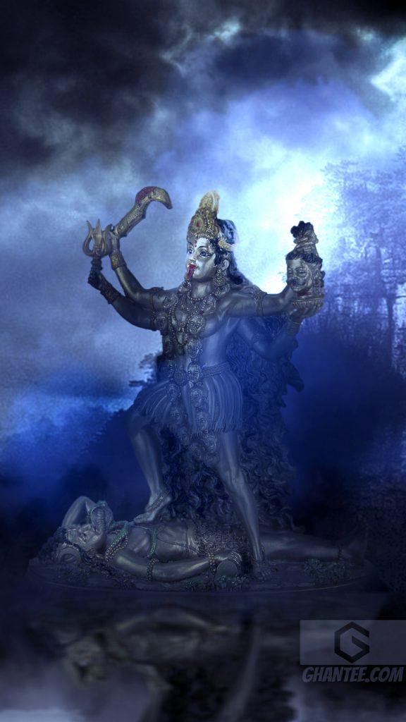 goddess mahakali hd phone wallpaper
