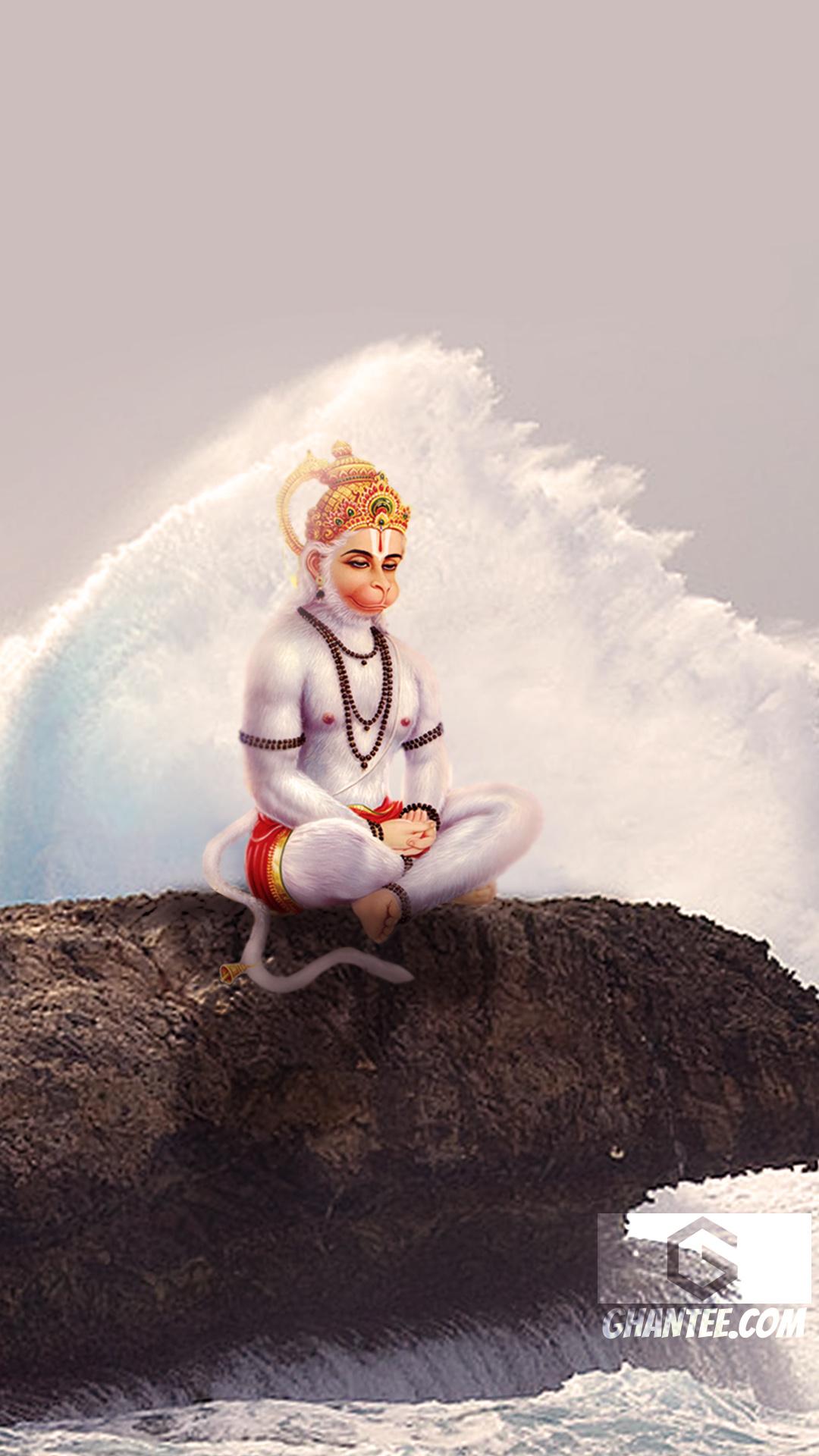 hanuman ji hd photo near shore