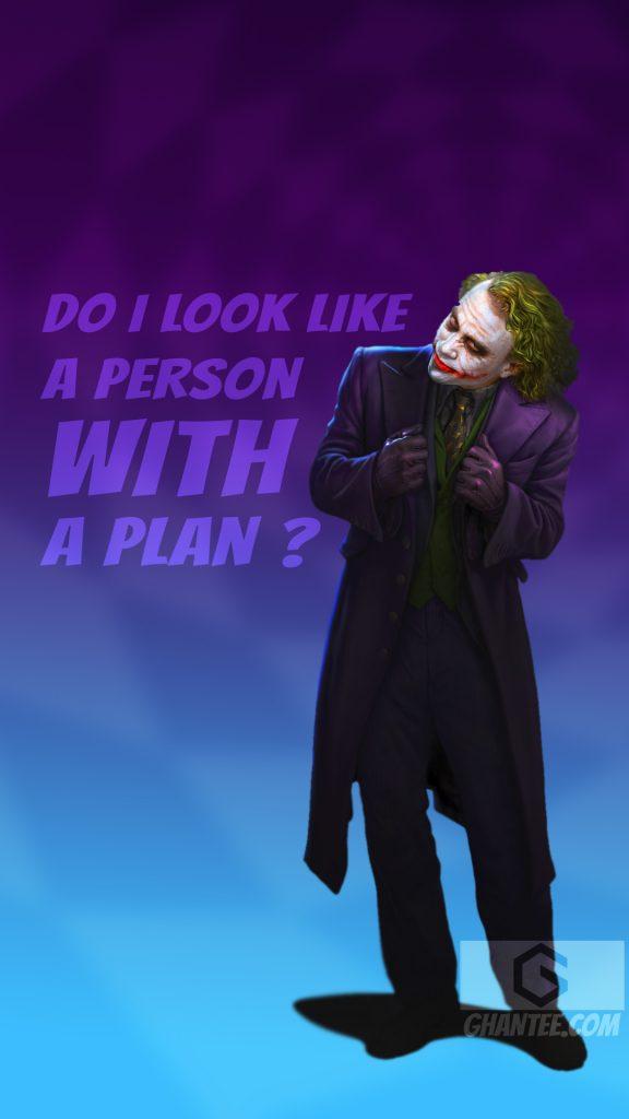 joker quote hd image