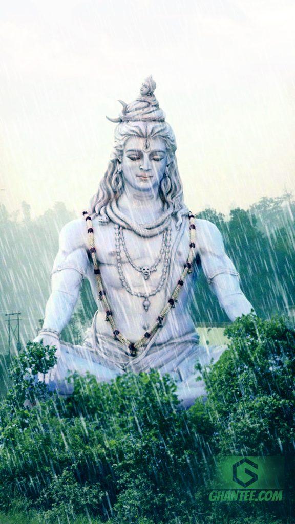 lord shiva rain wallpaper saawan