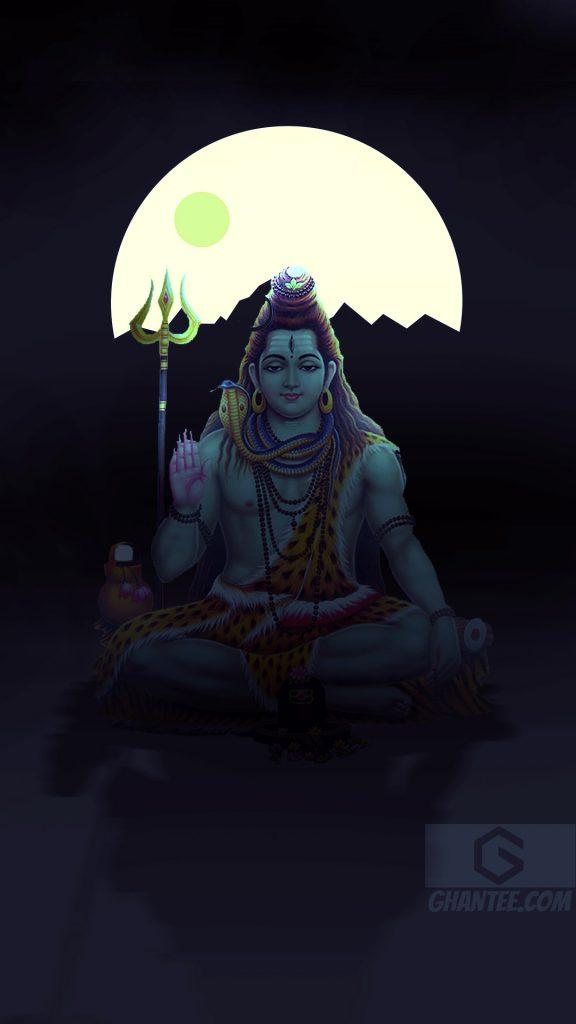 shiv ji shrawan meditation wallpaper