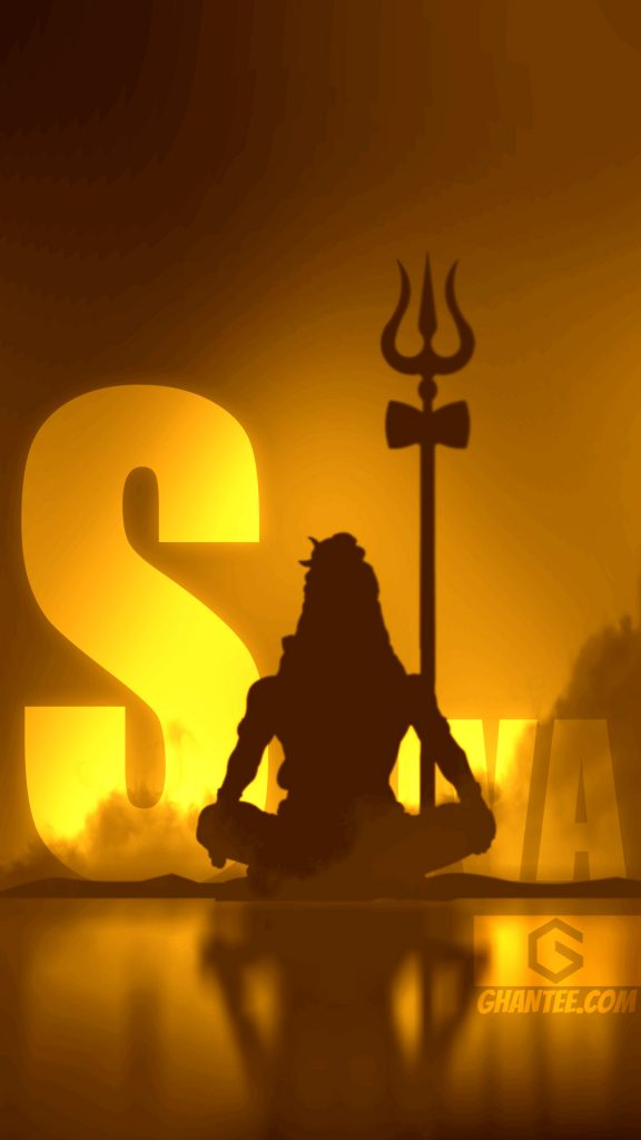 lord shiva silhouette wallpaper full hd