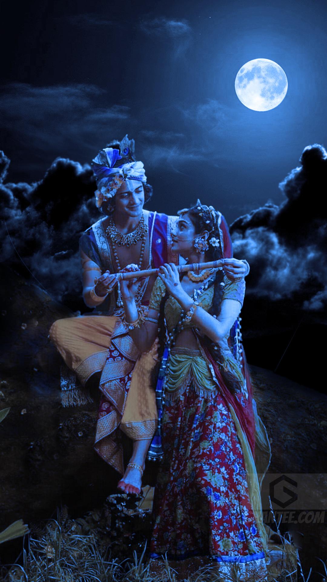 radhakrishna serial hd image beautiful night