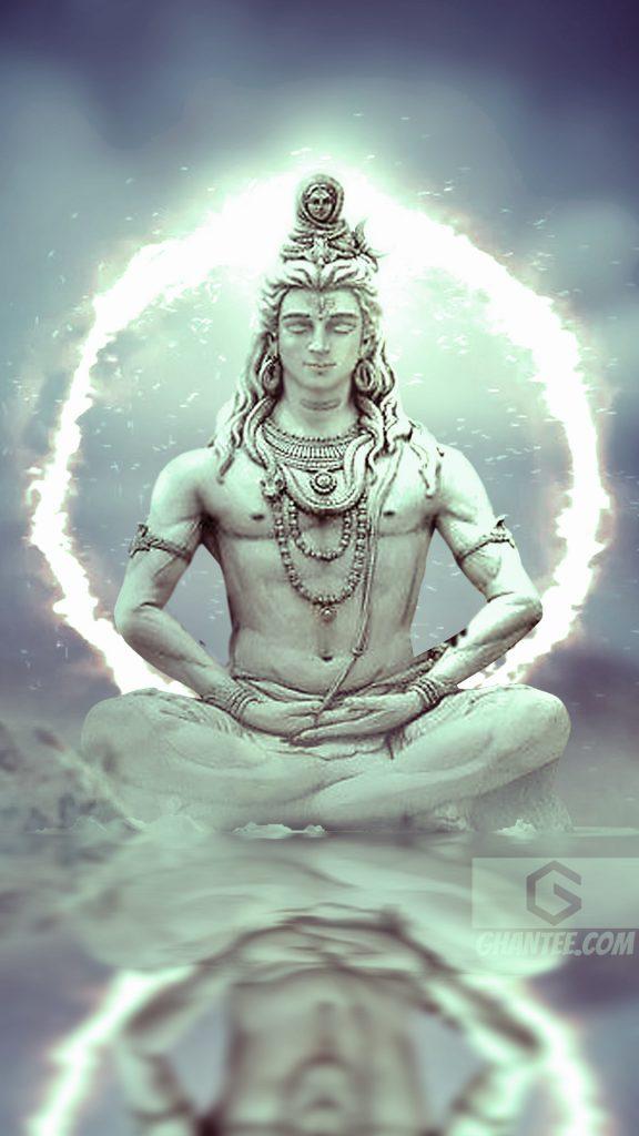 lord shiva divine fire phone wallpaper
